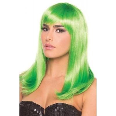 Hollywood Pruik - Groen