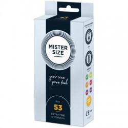 MISTER.SIZE 53 mm Condooms 10 stuks