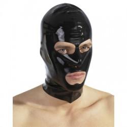 Zwart Latex Masker